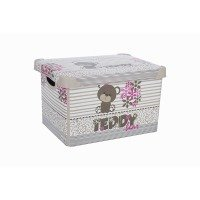 Корзина VIOLET HOUSE 0646 DECOR TEDDY  (0646 DECOR TEDDY с/кр. 5 л)