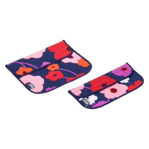 Термочехол BUILT 5149356 Sandwich and Snack Sleeve Set 2 шт Lush Flower