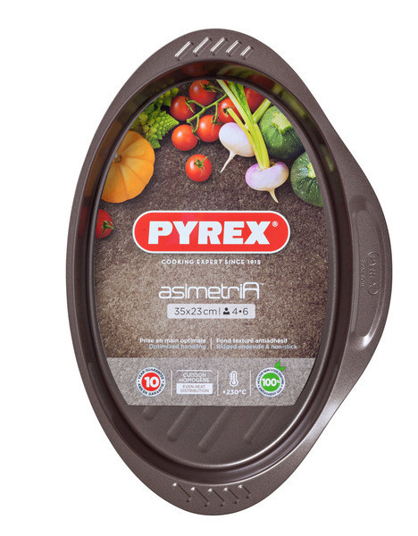 Форма 35x23 см PYREX ASIMETRIA AS35OR0