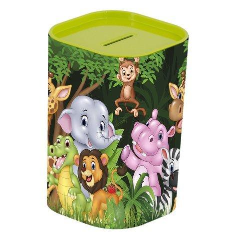 Копилка HEREVIN Money BOX Animals Green 161495-002/